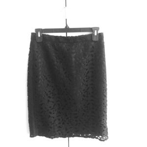 JCrew NWT Eyelet Pencil Skirt